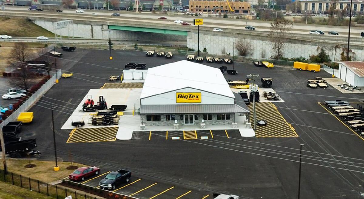 Big Tex trailers open in clarksville – Town of Clarksville