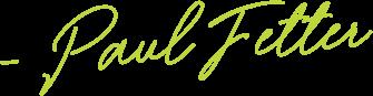 signature Paul Fetter
