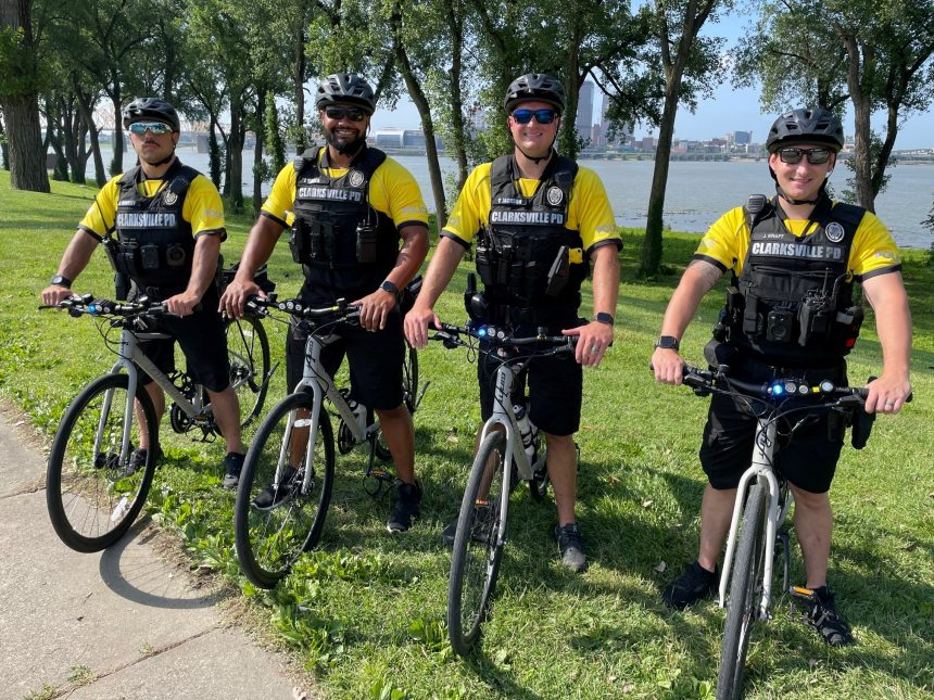 Clarksville Police Department Launches New Bike Patrol Unit