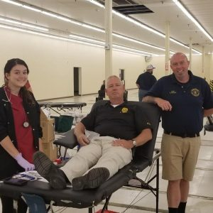 """Clarksville Police Claim Victory in """"Battle of the Badges"""" Blood Drive"""
