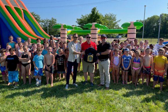 Community Donates New AED for Summer Explorers Program