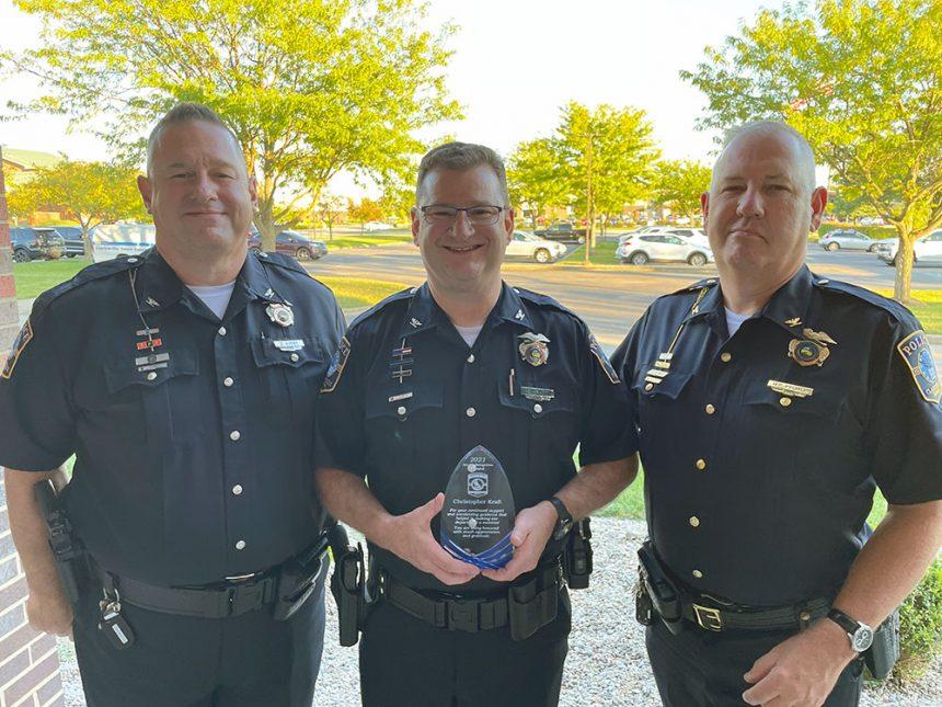 Chris Kraft Recognized for Exemplary Leadership of the Clarksville Police Reserves Program
