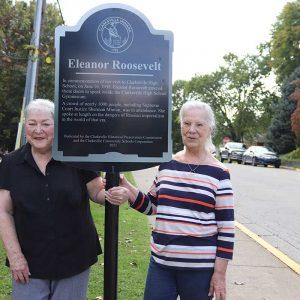 Eleanor Roosevelt Historical Marker Unveiled at Clarksville High School